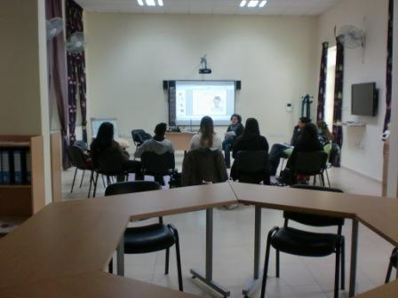 Session in life Skills room